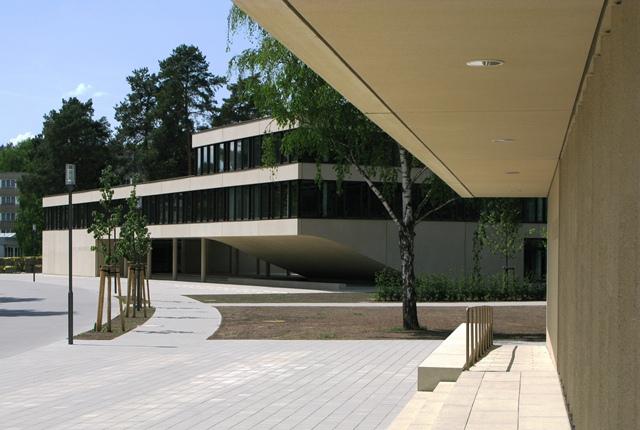 Bild Hörsaalgebäude der Landesfinanzschule